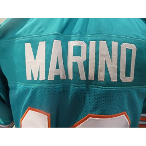 sale retailer e75fc d35c8 Dan Marino Signed Miami Dolphins Teal Autographed Jersey ...