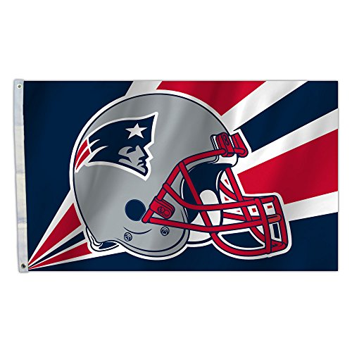 NFL New England Patriots 3-by-5-foot Flag -