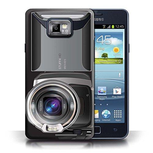 Etui / Coque pour Samsung Galaxy S2/SII / Caméscope conception / Collection de Appareil Photo