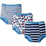 Gerber Baby Toddler Boy Training Pants,Blues, 3-Pack, 3T