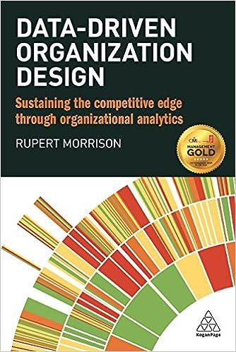 foto de Amazon.com: Data-driven Organization Design: Sustaining the ...