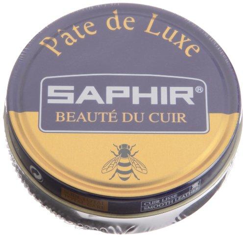 Saphir  Pate de Luxe  Wax 50ml. Tin Black