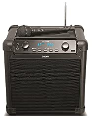 Ion Audio Tailgater (Ipa77) | Portable Bluetooth Pa Speaker With Mic, Amfm Radio, & Usb Charge Port