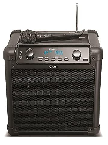 ION Audio Tailgater (iPA77) | Portable Bluetooth PA Speaker with Mic, AM/FM Radio, and USB Charge (Musical Instruments & Accessories)