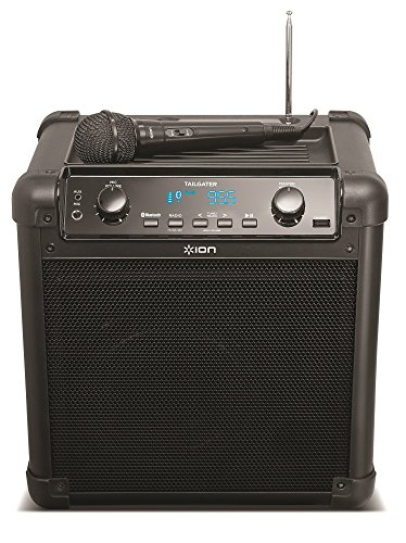 ION Audio Tailgater (iPA77) | Portable Bluetooth PA Speaker with Mic, AM/FM Radio, and USB Charge Port (Electronic Portable Speaker)