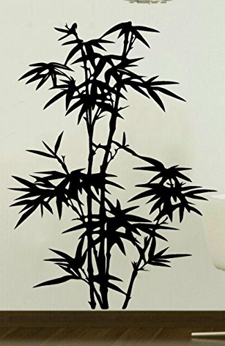 Asian Japanese Chinese Bamboo Living Room Wall Art Removable Home Decor Vinyl Decal Sticker 22