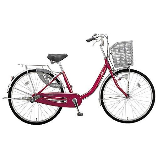 ミヤタ(MIYATA) シティサイクル 自転車 アルミスターU DAU60A8 (OR72) ネオシャドーレッド B077NSYDPV
