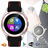 Indigi #1 Underwater 3G SmartWatch Wrist Phone Android 4.4 WiFi AT&T T-mobile Unlocked Smart Watches Unlocked Smartphone