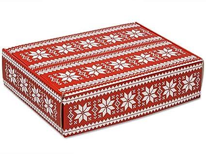 Amazon Com Decorative Shipping Boxes Nordic Snowflake