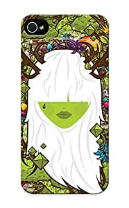 Honeyhoney High-quality Durability Case For Iphone 5/5s(trees Flowers Artwork Crowns Faces Jthree Concepts Branches Jewels Jared Nickerson )