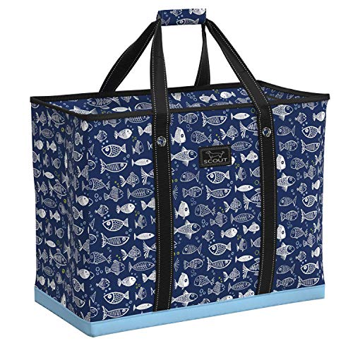 Tote Bag Fish - SCOUT 4 BOYS BAG, Extra Large Tote Bag for Women, Perfect Oversized Beach Bag or Pool Bag