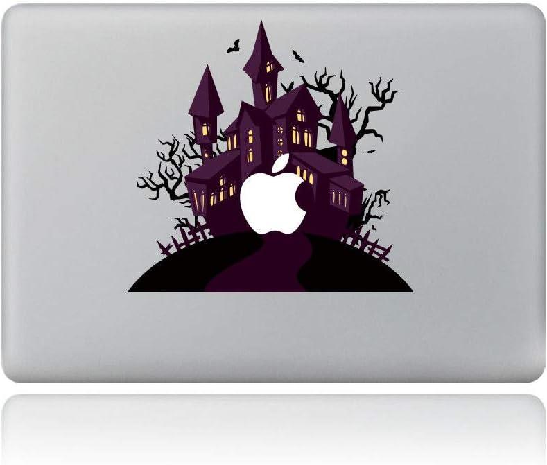 Halloween Tree House Removable Vinyl Laptop MacBook Sticker Decal for Apple Notebook MacBook Air Pro Retina 13 Inch