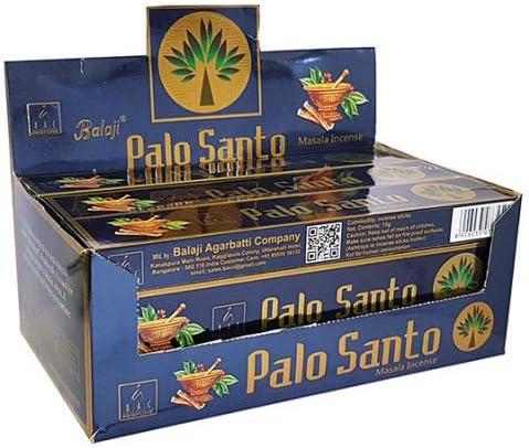 Incienso Palo Santo 12x15g=180g