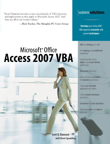 Microsoft Office Access 2007 VBA by Brand: Que Publishing