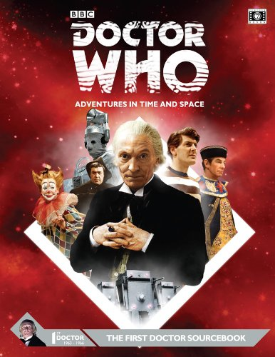 Doctor Who First Doctor RPG Sourcebook