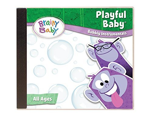 Price comparison product image Brainy Baby Children's Music CD Playful Baby Bubbly Instrumental for Toddlers