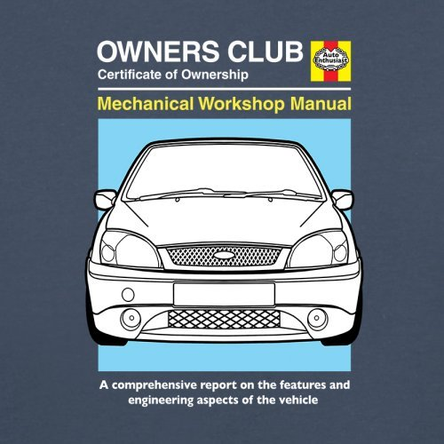 amazon com car owners manual ford fiesta babygrow bodysuit 0 rh amazon com ford ikon 1.8 diesel service manual ford ikon flair service manual