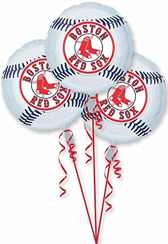Boston Red Sox Party Balloons - 3 -