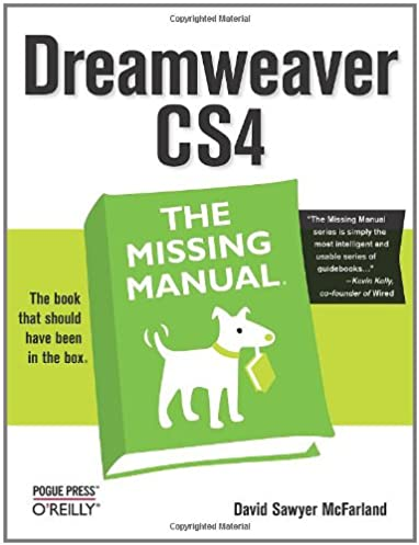 dreamweaver cs4 the missing manual missing manuals david sawyer rh amazon com dreamweaver cs4 manual pdf dreamweaver cs4 tutorial