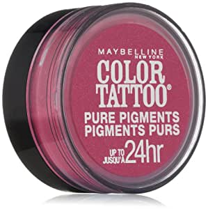 Maybelline New York Eye Studio Color Tattoo Pure Pigments, Pink Rebel, 0.05 Ounce