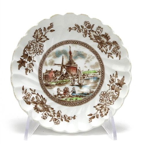 Tulip Time by Johnson Brothers, China Saucer (Tulip Brothers Johnson)