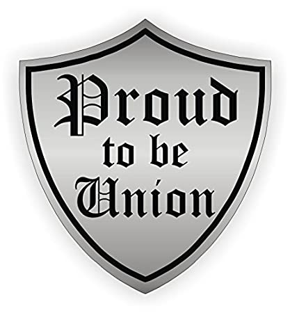 Hard Hat//Tool Box Decal 2 Stickers Union Proud