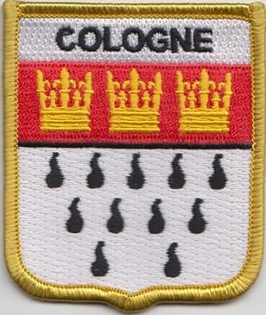 Kbk Köln deutschland köln flagge bestickt patch amazon de garten
