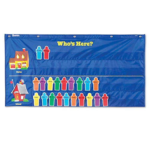 Learning Resources Helping Hands Pocket Chart, Classroom Organization, Teacher Accessories, 30 Cards, Ages 5+ (Pocket Chart Weather Cards)
