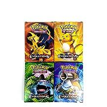 18 Pokemon Trading Mega EX Cards with 10 Free Random Cards