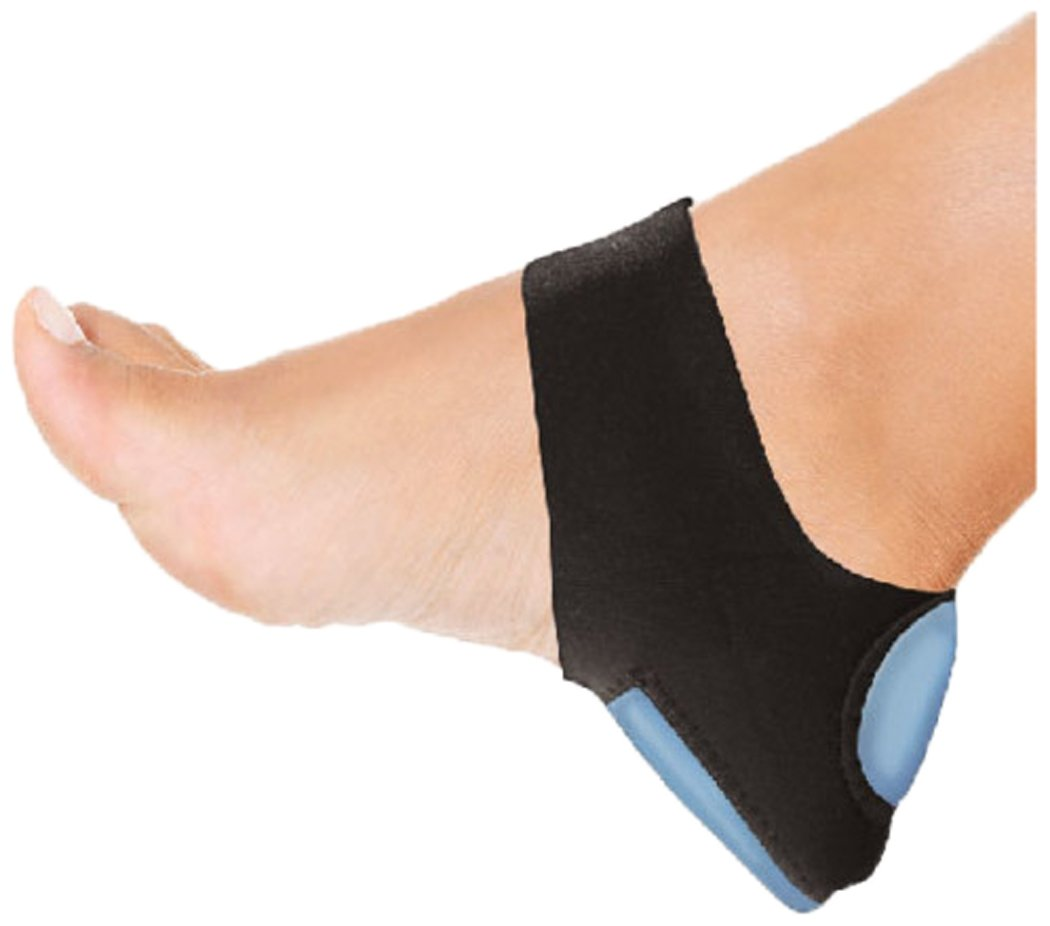 PU Health Pure Acoustics Plantar Fasciitis Therapy Wrap & Heel Pain Arch Support