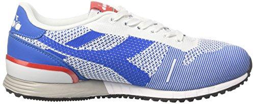 Blu Sneaker Basses Bleu Mediterraneo Weave Titan Adulte Diadora Mixte qOES1wCw
