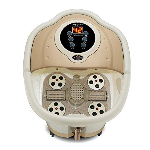 WE&ZHE Automatic Massage Foot Bath Electric Heating Foot Basin Deep Barrels by WE&ZHE