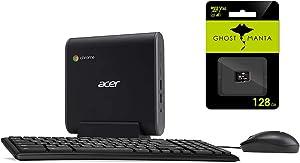 "2020 Acer Chromebox CXI3 Premium Mini PC Desktop Computer, Intel Celeron 3867U(>N4000), 4GB RAM, 128GB SSD, 802.11ac WiFi 5, USB-C, HDMI, Chrome OS +Keyboard and Mouse w/128GB SD Card"" /></a></div> <div class="