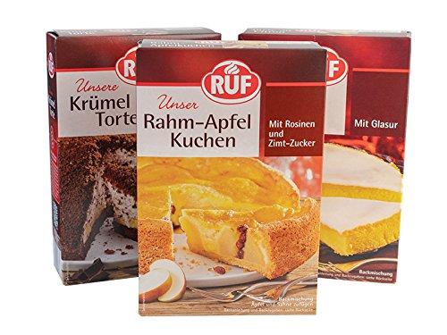 Ruf Topseller Premium Kuchen Ruf Krumel Torte 425g Ruf Rahm Apfel