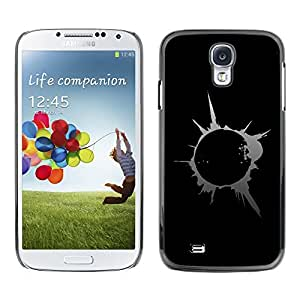 TopCaseStore Rubber Case Hard Cover Protection Skin for SAMSUNG GALAXY S4 - Abstract Splash Blast