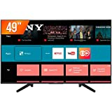 """Smart TV LED 49"""" Sony 4K HDR KD-49X705F com Wi-Fi, 3 USB, 3 HDMI, Motionflow XR 240, X-Reality e X-Protection PRO"""