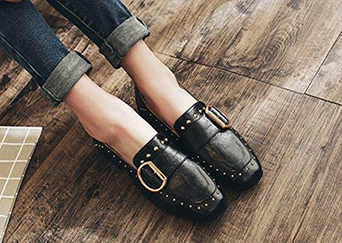 JRenok Sint Zapatos de Cordones Material de apaxrw