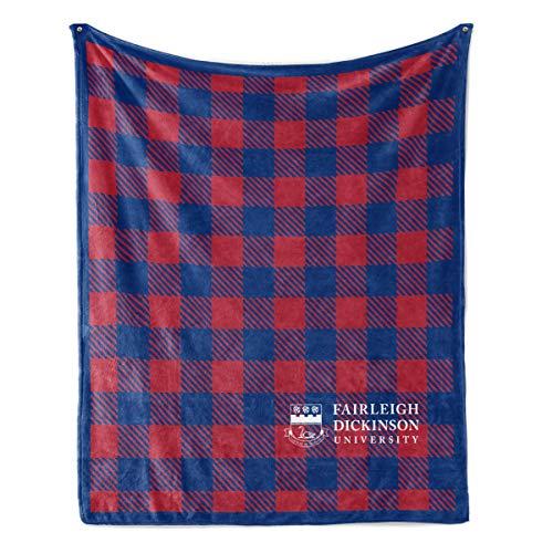 Official NCAA Fairleigh Dickinson Knights - Light Weight Fleece Blanket - 30X40
