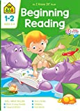 School Zone - Beginning Reading Workbook - 64 Pages, Ages 6 to 8, Grades 1 to 2, Beginning & Ending Sounds, Vowels, Sequencing, and More (School Zone I Know It!® Workbook Series)