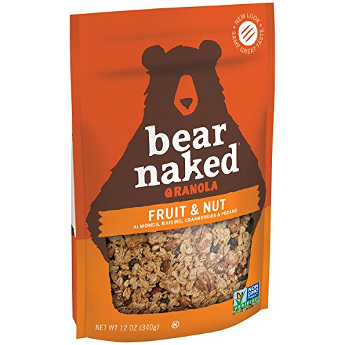 2005 Bear - Bear Naked Granola Pouches, Fruit and Nutty, 12 Ounce (Pack of 6)