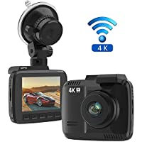 Frizione 1256457487 Car Dash Cam, 4K Dash Camera
