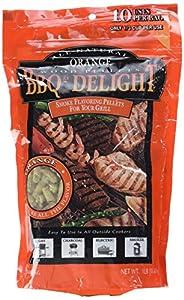 BBQ'rs Delight Orange Wood Pellets 1lb Bag from famous BBQr''s Delight