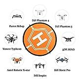 Huhuhero-Drone-Landing-Pad-for-RC-Drones-Helicopter-DJI-Mavic-Pro-and-RC-Phantom-2344-Pro-32-80cm-DJI-Mavic-Pro-Not-Included