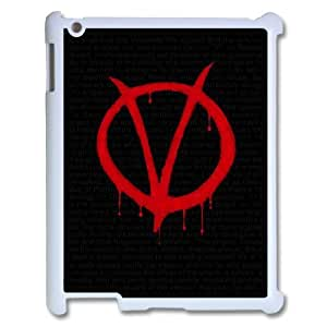 C-EUR Cover Case V for Vendetta customized Hard Plastic case For IPad 2,3,4 by mcsharks