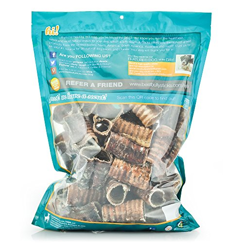 100-Natural-3-Inch-Beef-Trachea-Dog-Chews-by-Best-Bully-Sticks-50-Pack