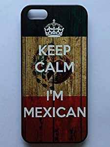 LYYF New Fashion Cool High Quality KEEP CALM I'M MEXICAN Hard Case/cover for Iphone 5/5s