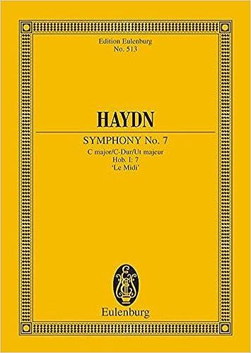 SYMPHONY NO.7 C MAJOR HOB.I:7  LE MIDI  STUDY SCORE