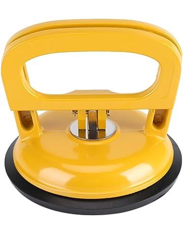Heavy Duty sola placa ventosa elevador de cristal mover Dent almohadilla de aleación de aluminio para