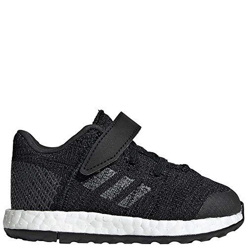 (adidas Baby Pureboost Go, Black/Grey/Carbon, 8K M US Toddler)