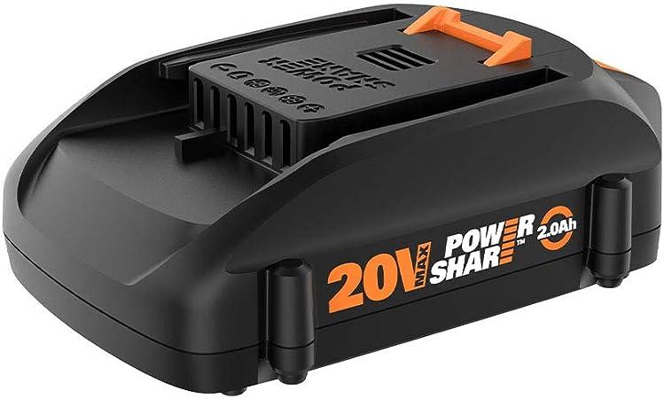 Amazon.com: WORX WA3575 20 V PowerShare 2.0 Ah Batería de ...